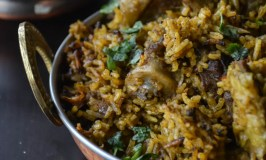 Homestyle Weekend Speciality Lamb Biryani