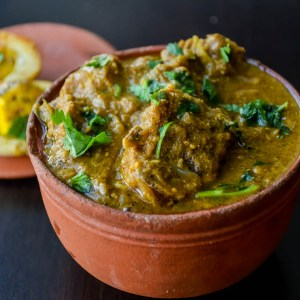 Kongu Style Aatu Kari Kurma/  Mutton Curry Kongunadu style