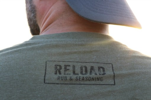 Reload Tee Shirt Back