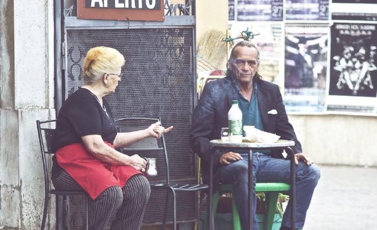 סגנון הדיבור באיטליה