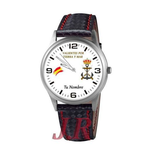 Reloj Infantería de Marina-relojes personalizados jr