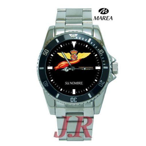 Reloj Policía Nacional Distintivo de Piloto-relojes personalizados jr