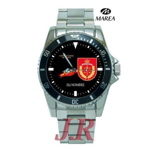 Reloj Policía Nacional Judicial-relojes personalizados jr