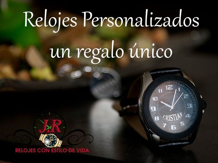 un regalo unico- relojes personalizados jr