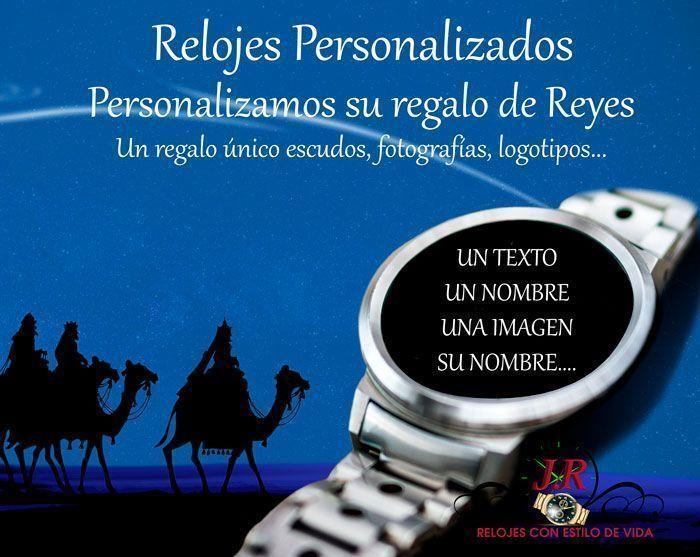 REGALO DE REYES-RELOJES-PERSONALIZADOS-JR