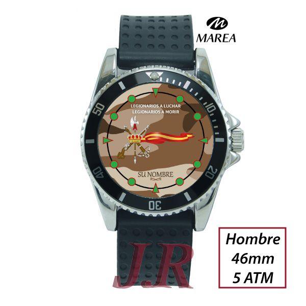 783c1a05e04d Reloj Legion Española Camuflaje Arido - Relojes Personalizados J.R
