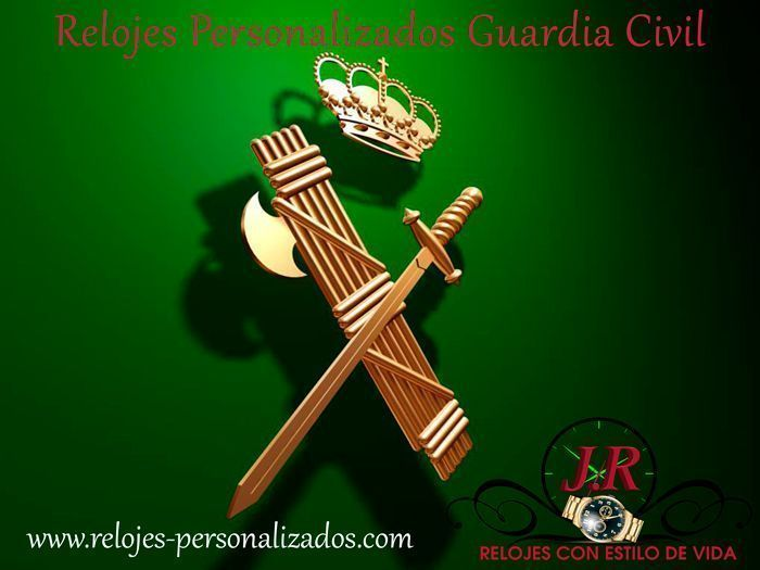 Relojes Personalizados Guardia Civil