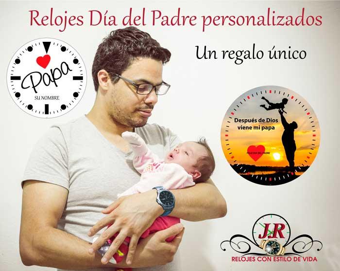 Reloj día del Padre-regalar-relojes-para-personalizar-jr