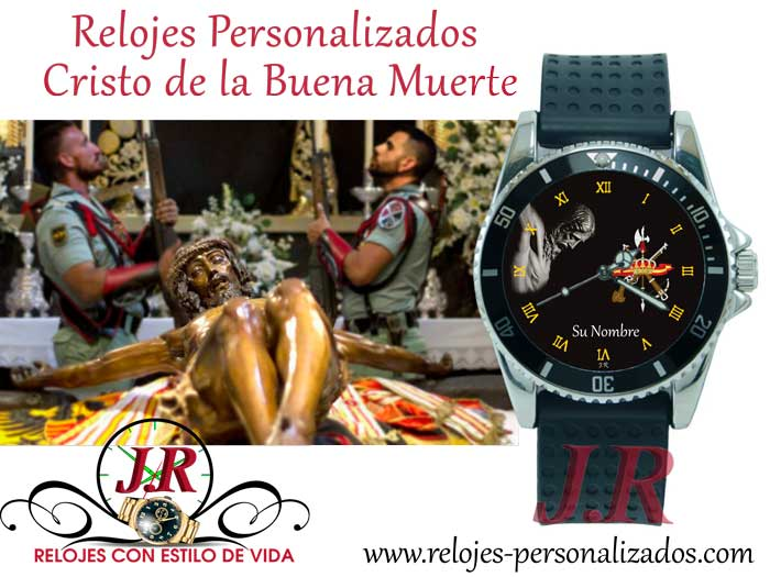 Reloj del Cristo de la Buena Muerte-RELOJES-PERSONALIZADOS-JR