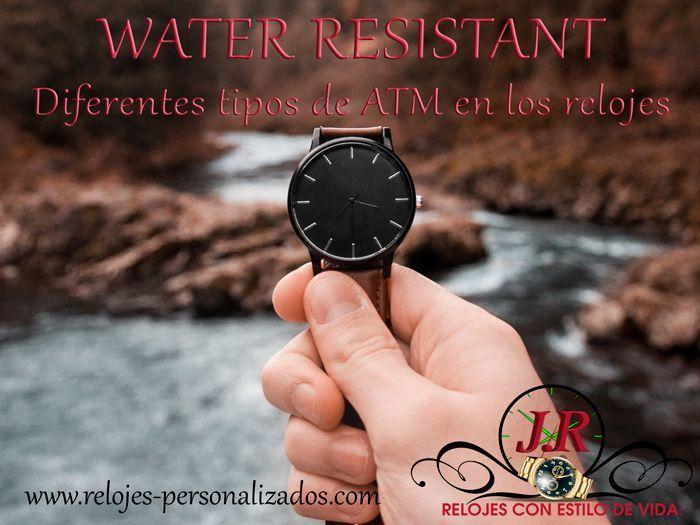 Water De Pulsera Los Atm O Relojes Resistant Significa Que En SUpLzqVMG