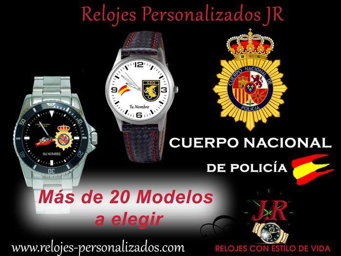 Reloj de Policía Nacional