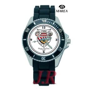 Reloj-dionisio--Hugo-medidna- Escudo de futbol