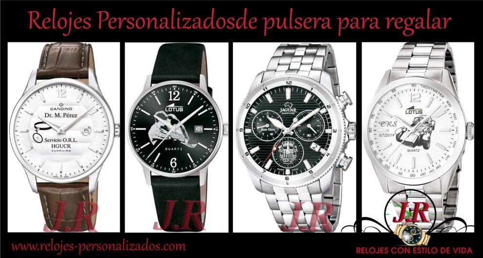 Los relojes personalizados de pulsera