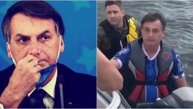 Photo of Presidente de Brasil se pasea en moto acuática mientras el país supera los 10.000 muertos por COVID-19