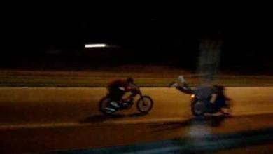 Photo of 2 Gravemente herido supuestamente echando carrera en motocicleta.