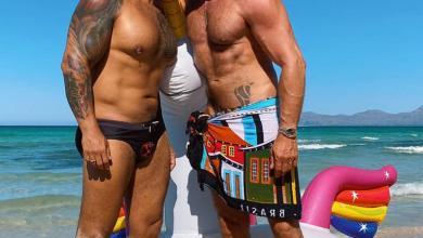 Photo of Viktor Rom y Marco Lux la pareja del momento de vacaciones en la isla de Mallorca