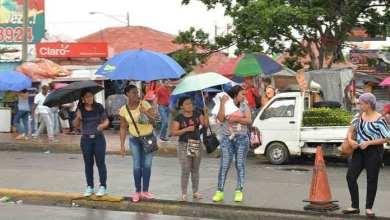 Photo of Aguaceros dispersos esta tarde en algunas localidades del país