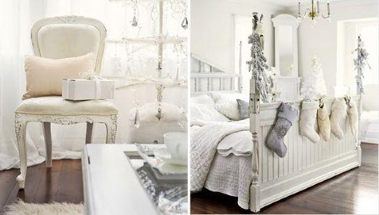 camera-letto-shabby-per-natale
