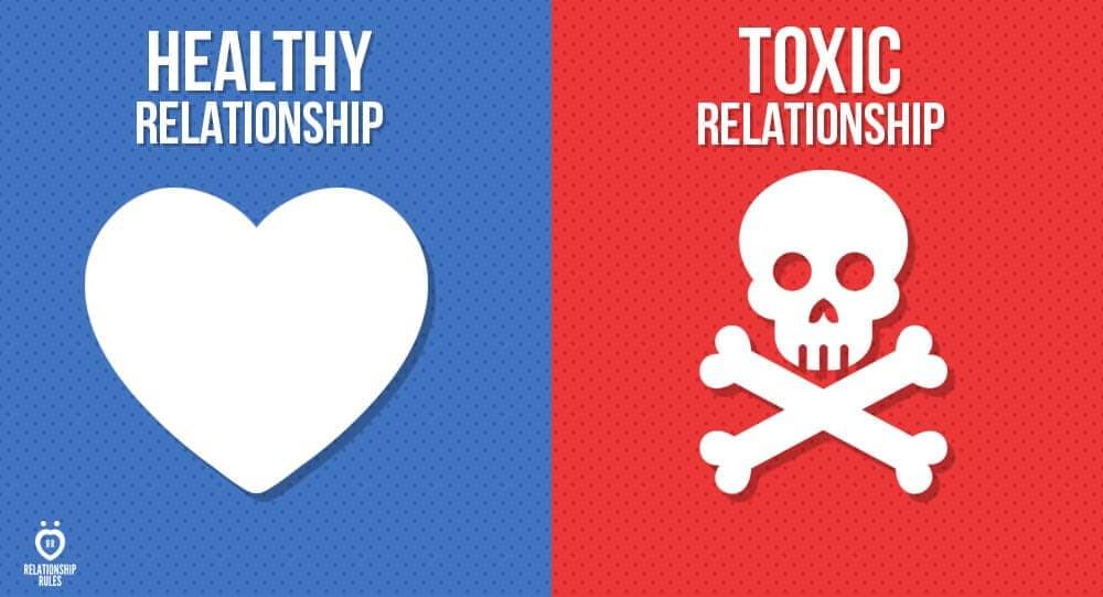 healthy love vs toxic love