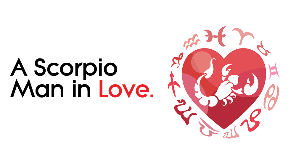 How is a Scorpio man in Love