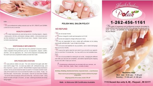 Polish Nail Salon In Mount Pleasant WI RelyLocal