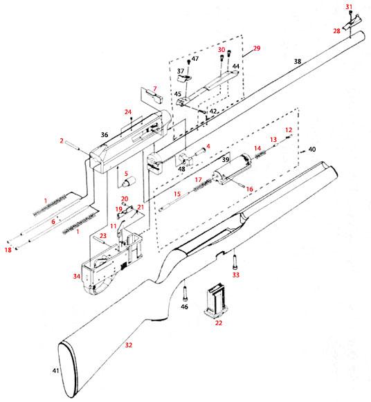 Remington 597 Parts