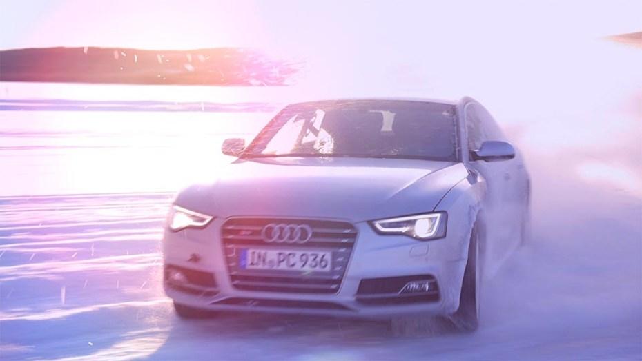 Eventdokumentation zur Audi Ice Experience