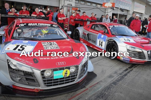 Eventdokumentation Audi race experience
