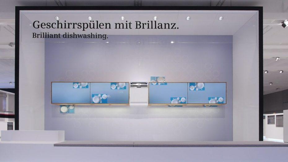 Dokumentation Siemens Messeauftritt - Geschirrspüler