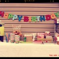 Happy Birthday Kiddie Themed Party Do it Yourself