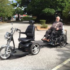Wheelchair Trailer Ergonomic Chair Diagram For Mobility Scooter Remap