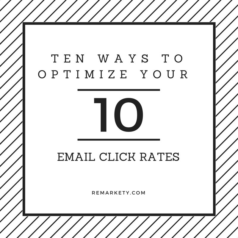 Ten Ways to Increase and Optimize Your Email Click Rates