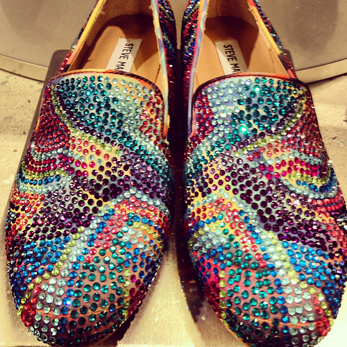 Steve Madden rhinestoned womens slippers, at Nordstrom Tampa Bay