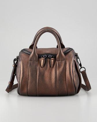 Alexander Wang Rockie iridescent satchel
