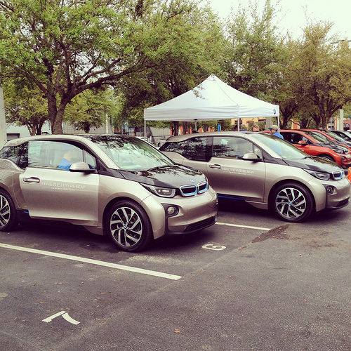 Reeves Motors BMW i3 Driving Experience