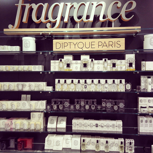 The new Diptyque counter at Nordstrom Tampa