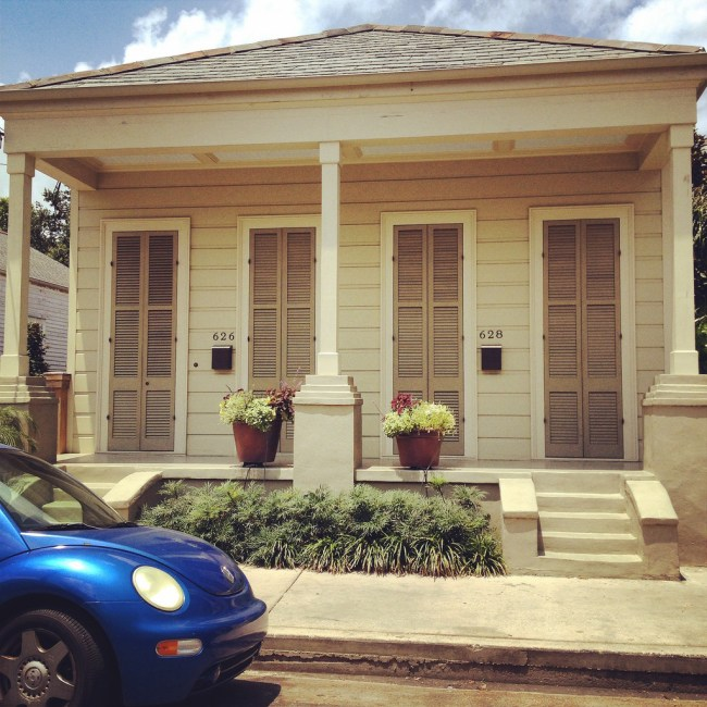 A creole cottage in the Bywater