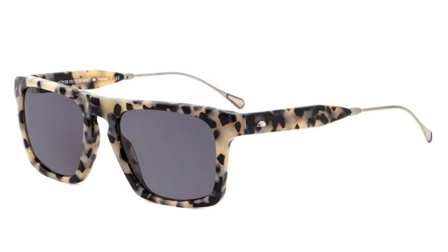 Oliver Peoples West San Luis in cream and black tortoise