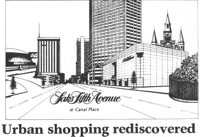 The most important thing is that New Orleans has a gigantic 3-story SAKS store. :) Credit to Patricksmercy on Flickr.