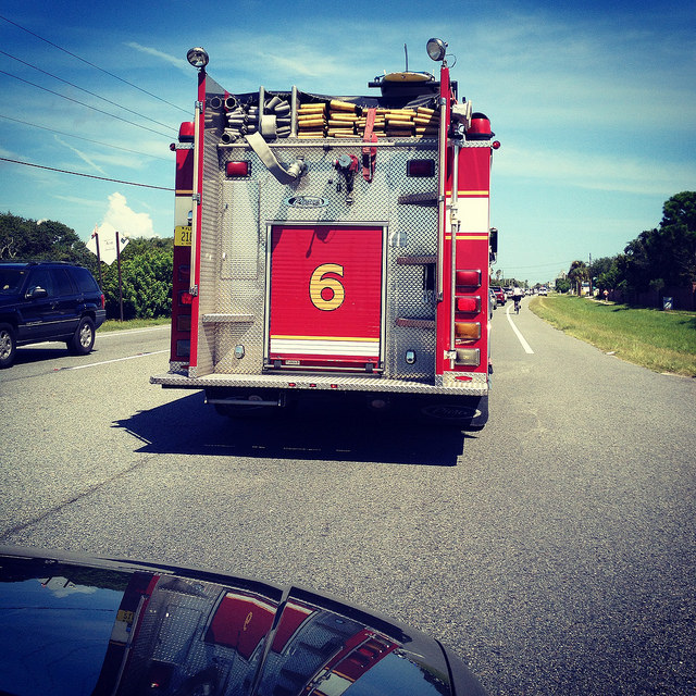 One of my favorites, St. Johns County Engine 6