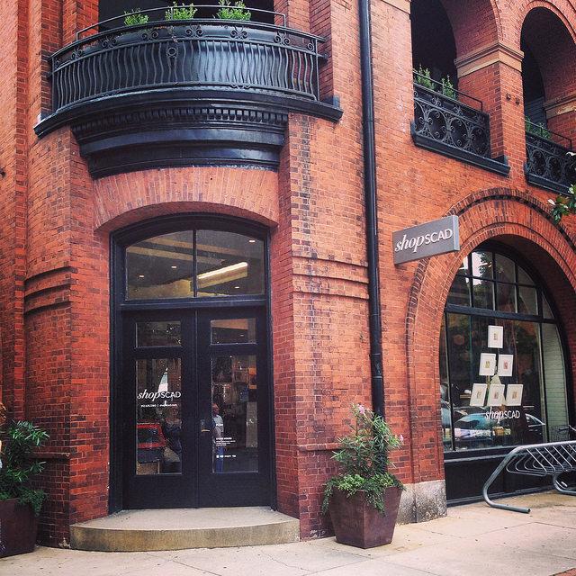 shopSCAD on Bull Street, Savannah