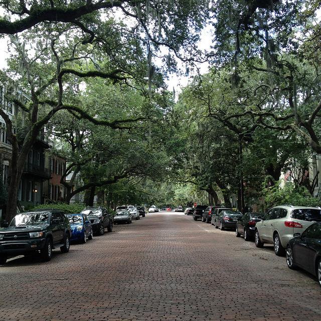 East Jones Street, Savannah