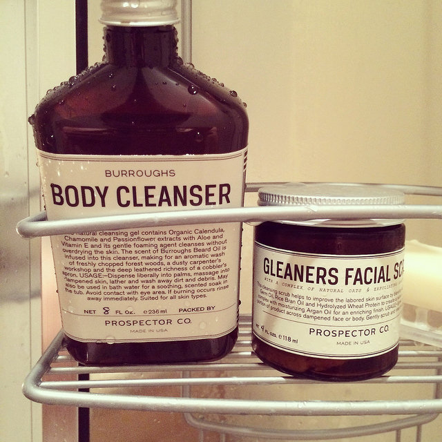 Prospector Co. Burroughs Body Cleanser & Gleaner's Facial Scrub