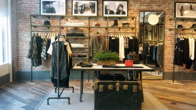 Rag & Bone store interior