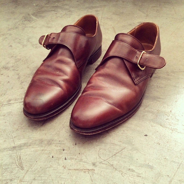 These Peal & Co. for Brooks Brothers monk strap shoes I've had for five years are about the dressiest it gets