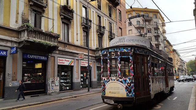 A classic 1928(ish) Milano streetcar