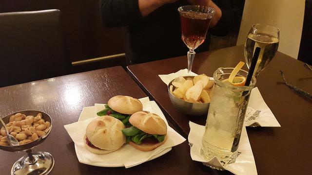 A little aperitivo at Cinc in Brera