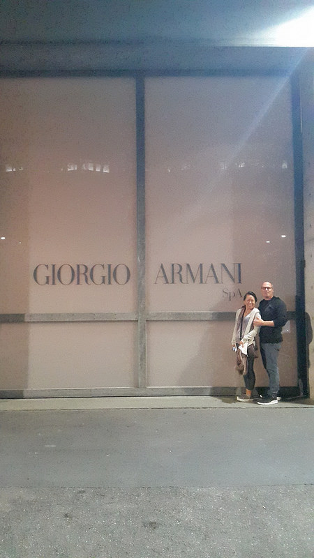 Giorgio Armani SpA, across the street from Armani/Silos in Zona Tortona