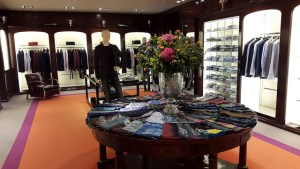 Etro's Via Montenapoleone Flagship men's department