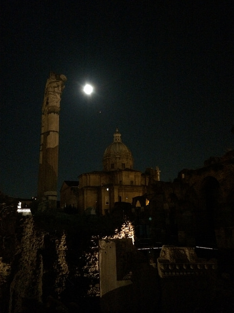 Full moon too. Swoon!